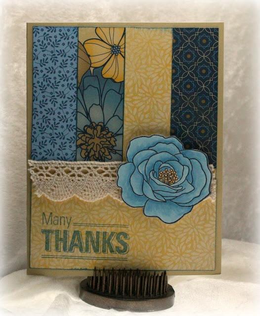 inspired my Wonderful Anniversary card