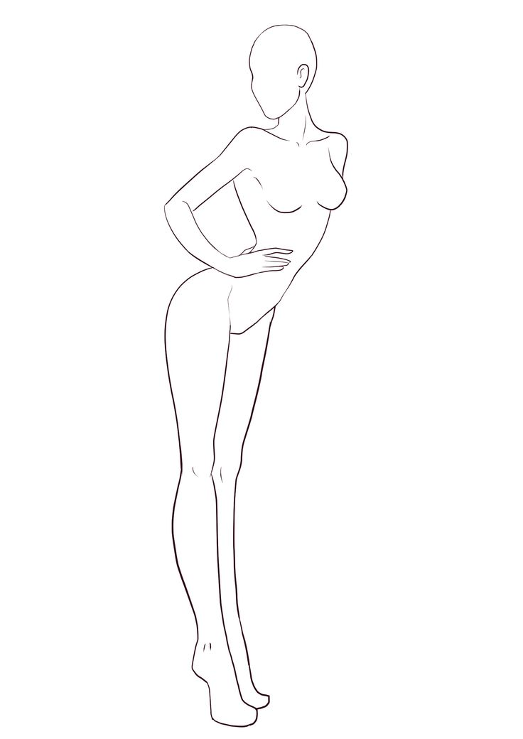701 best Fashion croquis poses images on Pinterest