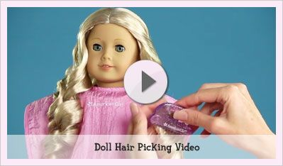 Doll Hair & Care | Play at American Girl- video for Annie
