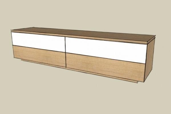 Fabrication d'un meuble TV par Zeloko - Quand on y réfléchit, un meuble TV est un vrai symbole de son époque. En effet, c'est tout de même une des rares pièces de mobilier qui doit impérativement suivre la forme et la taille de ce qu'il doit...