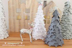 Homemade by Patricia Morgenthaler: Noch mehr Weihnachtsbäume...