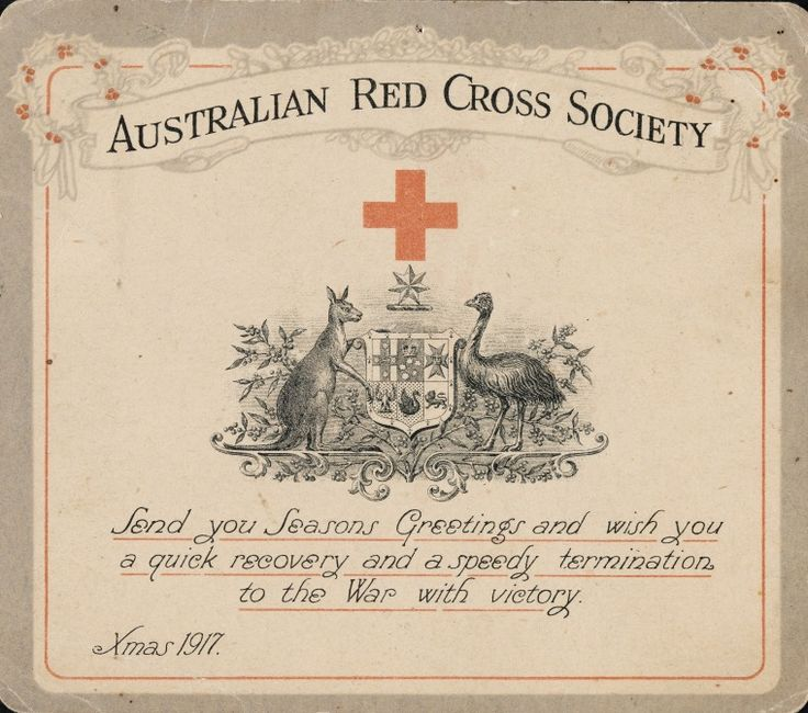 3248B/115: Australian Red Cross Society Christmas card, Xmas 1917 https://encore.slwa.wa.gov.au/iii/encore/record/C__Rb3935967