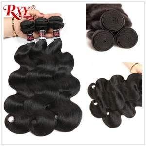 Brazilian Body Wave Bundles Human Hair Weaves Double Weft Wavy Hair Bundles 100% Remy Human Hair Extensions 10- 28 inches