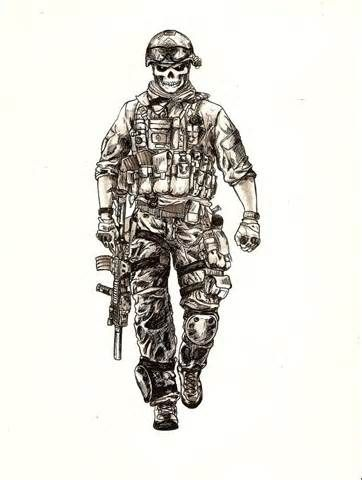 army skull - Bing images                                                                                                                                                     More