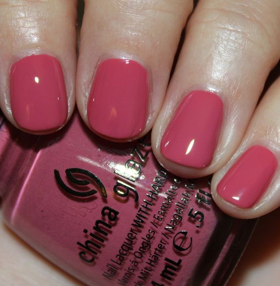 Life Is Rosy, China Glaze Avant Garden for Spring 2013