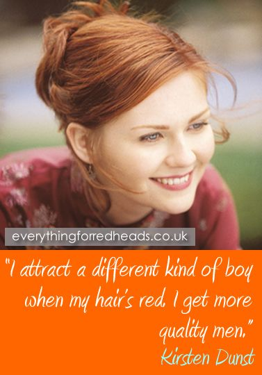 Do man like redhead