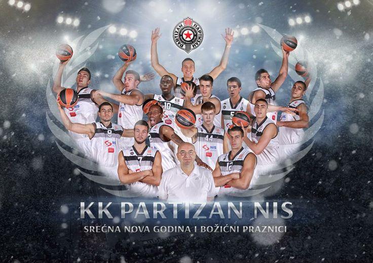 Happy New Year 2014 from KK Partizan