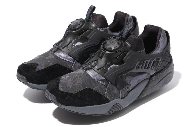 bape x puma sneakers