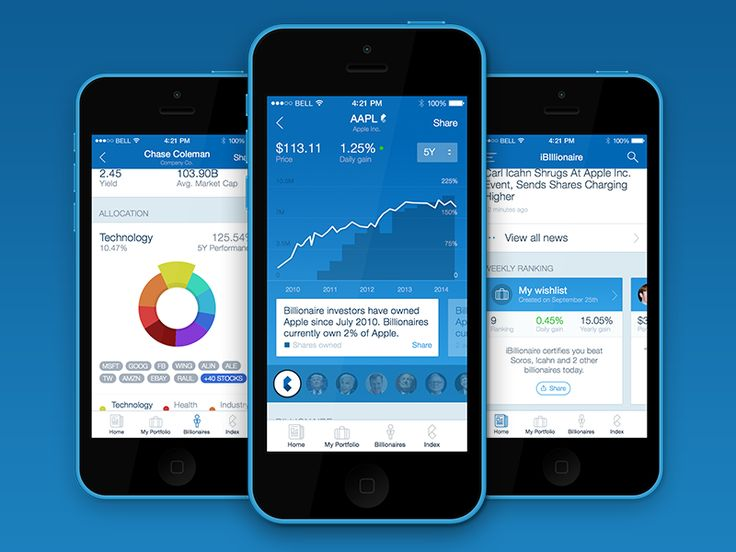 iBillionaire iOS App