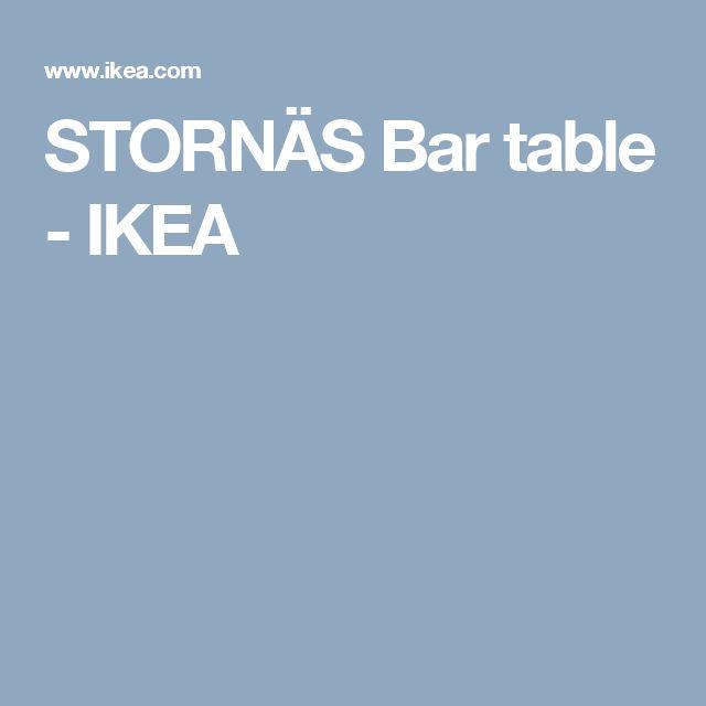 STORNÄS Bar table - IKEA