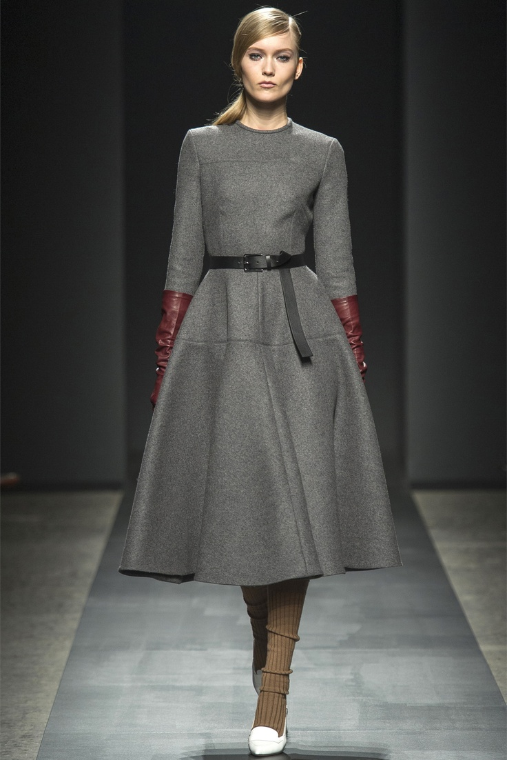 Ports 1961 Fall - Winter 2013/2014.Minus the socks and baggy legings.Add Black tights and booties!