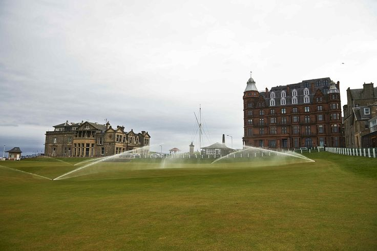 Toro irrigation on the Old Course at St Andrews