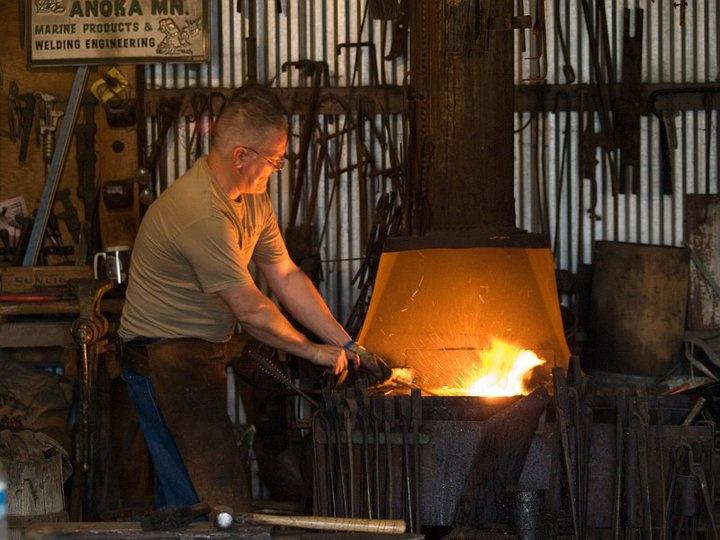 Knife Forging Ovens : Best images about blacksmith my stuff on pinterest