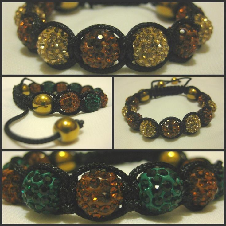 Two-Tone GOLD HAEMATITE RANGE Emerald Green or Champagne