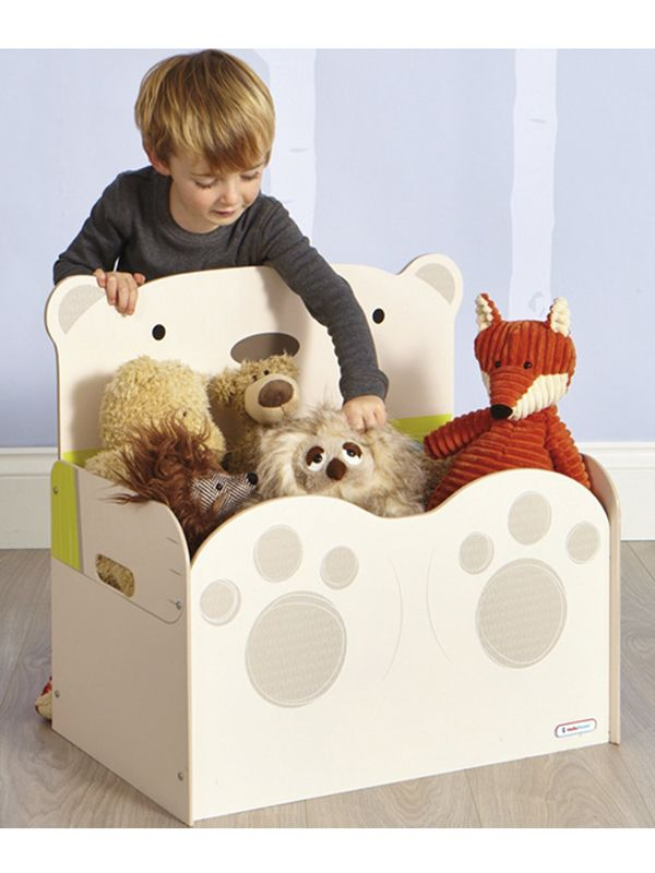 Invite A Cuddly Character To Tidy Up Time With The BearHug Toy Box By HelloHome Friendliest Way Your Little Ones Favourite Teds Away At