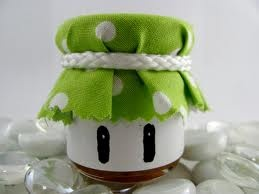 1 up jars Perfect for my nerd wedding :D