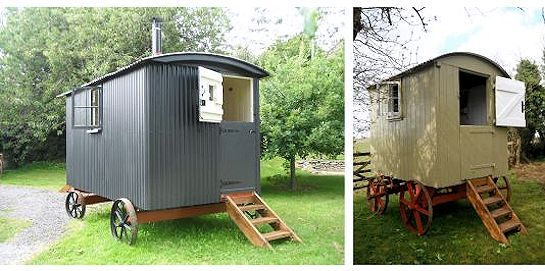 shepherds huts for sale gloucestershire