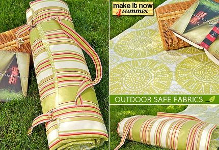 ROLL UP MAT: Picnics Blankets, Sewing Projects, Outdoor Pads, Picnic Blanket, Cushions Tutorials, Outdoor Cushions, Pads Rolls, Summer Fun, The Beaches