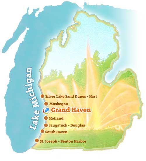 Grand Haven - Michigan Beachtowns