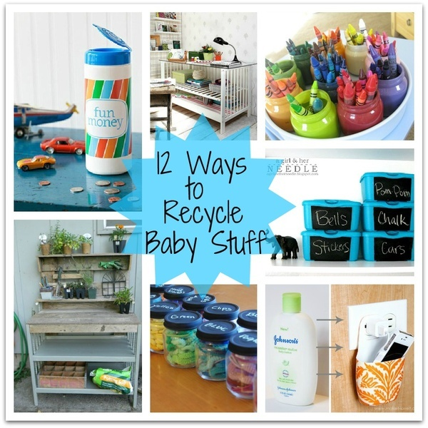 12 Clever Ways to Reuse Baby Products
