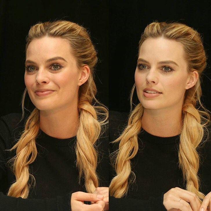 Margot Robbie grown up pigtails