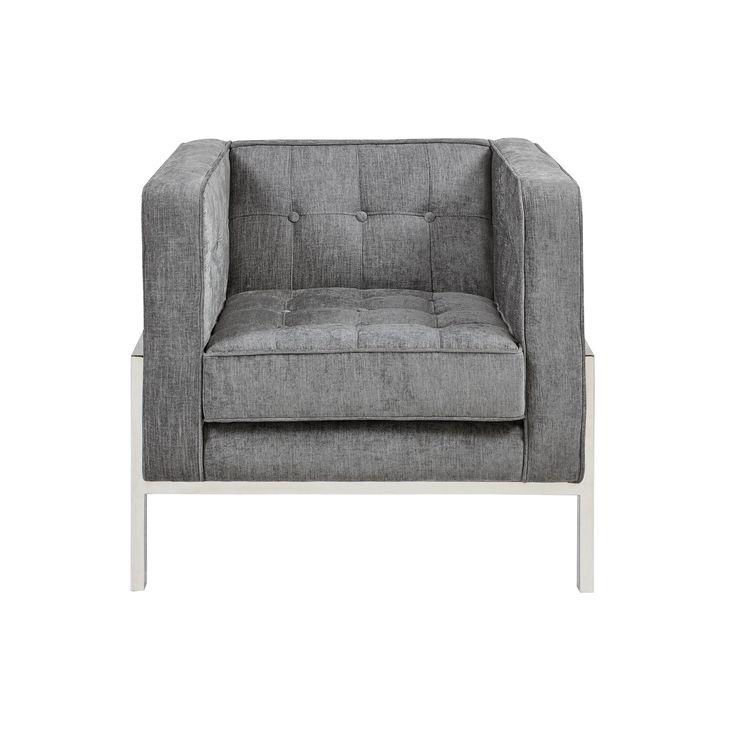 Best Hampton Accent Chair Gray *D*Lt Unisex Blue Accent 400 x 300