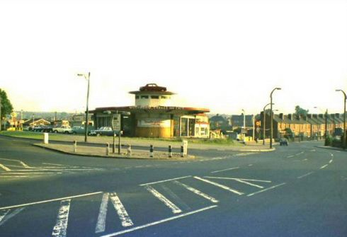 Mushroom Garage, Rotherham before asda roundabout