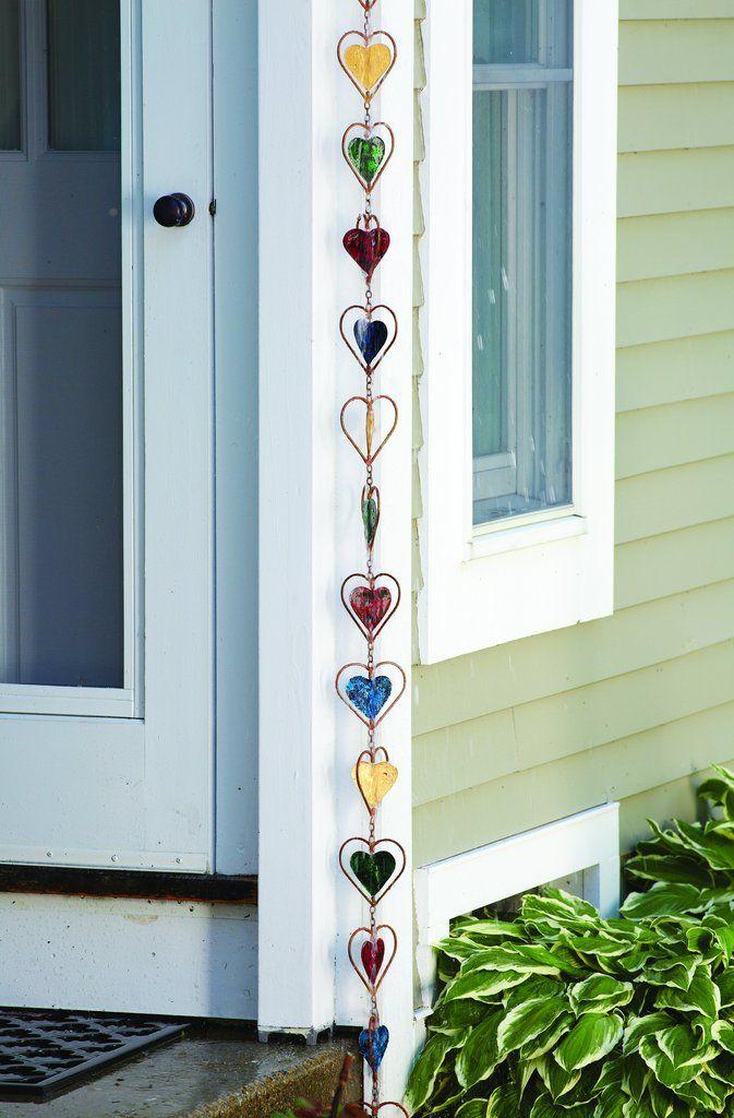 Multicolor Heart Rain Chain 25 best Rain