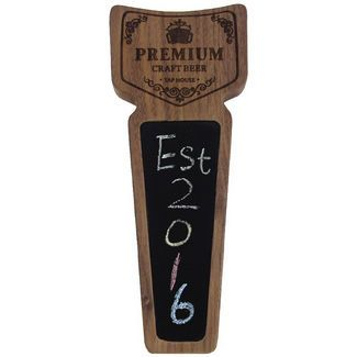 """Awofer Vintage wooden beer keg tap, Premium Craft Beer Tap House, 8.3"""" X 3.2"""" X .8"""" Made from natural Walnut, Funny keg handle, Craft beer gifts $29.99"""