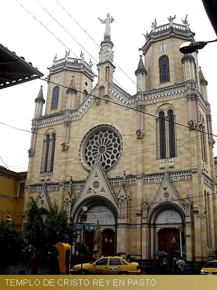 Colombia - Templo Cristo Rey, San Juan De Pasto, Nariño.