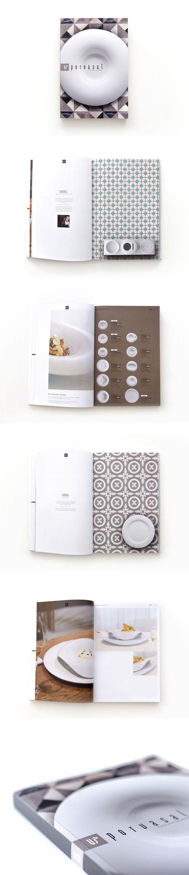 Diseño y maquetación del catálogo de productos para Porvasal