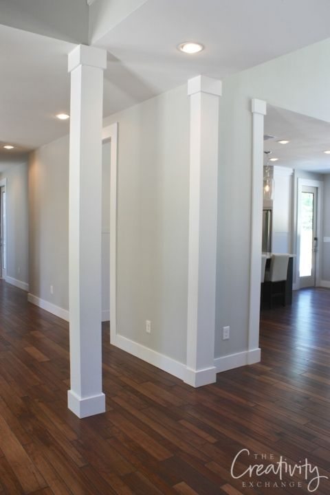 Wall color is Sherwin Williams Repose Gray.