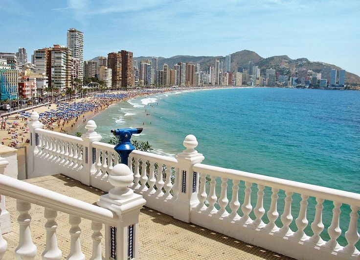 Benidorm.  Everyone should experience it at least once! ;)  We would go off season, straight after Christmas.