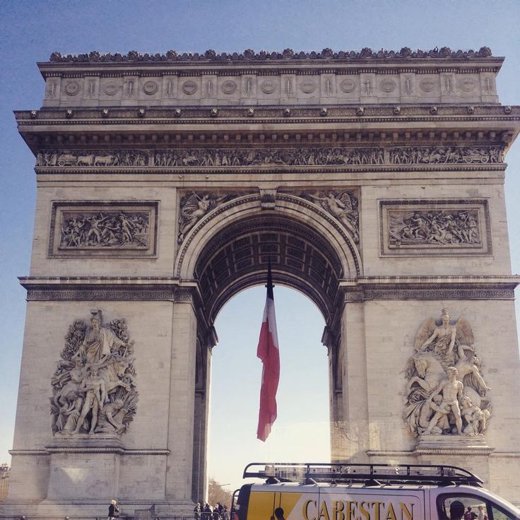 Arc de Triomphe  Read about what else I got up to in Paris > http://www.itsawanderlustworld.com/2015/04/paris.html