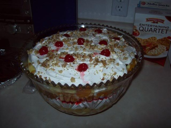 punch bowl cake southern cake recipes desserts 6864