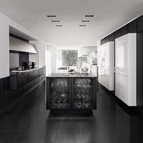 25 beste idee n over witte kasten op pinterest witte keukenkasten witte keukens en donkere - Moderne chalet keuken ...