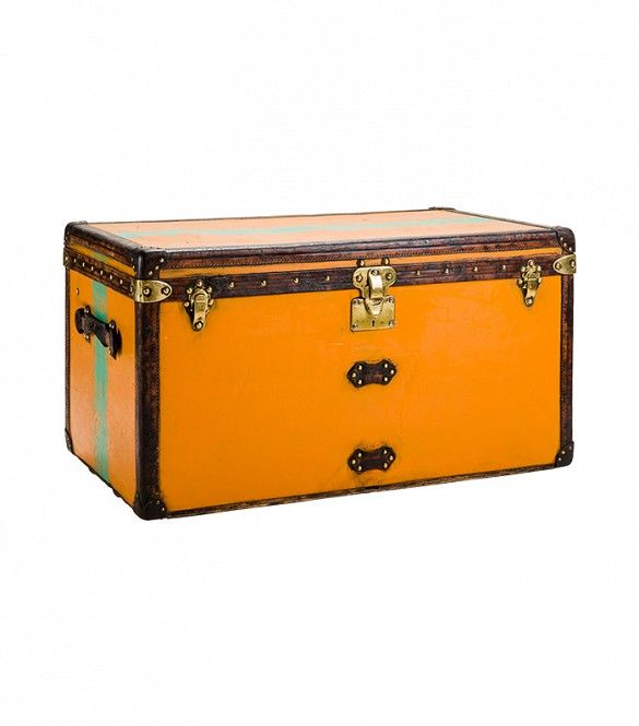 Louis Vuitton Trunks: 5 Things You Didn't Know About The Classic Cases via @WhoWhatWear