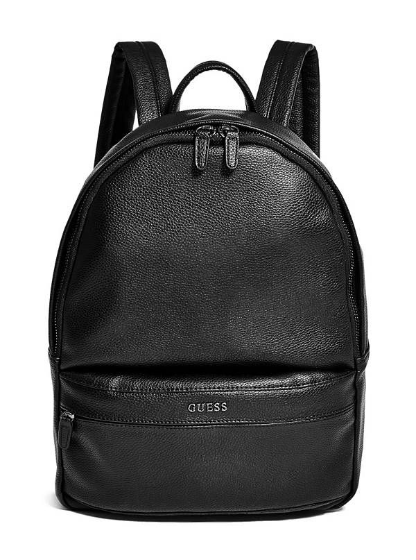 Chris Backpack Guess Faux Leather Backpack Guess