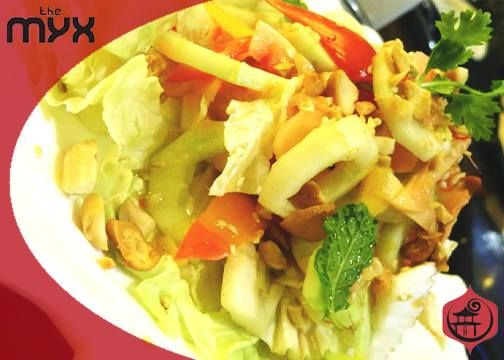"""Here's what Zomato certified #connoisseur, Rahul Arora had to say about our Pickled Ginger Salad... """"The crunch was perfectly balanced by the sharp ginger and the nutty flavors . Superb !"""" Must try, isn't it!"""
