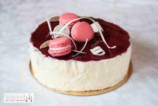 Cherry- Poppyseed- Mascarpone cake