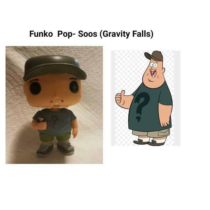 Custom Soos From Gravity Falls Funko Pop Funko Pop Pop