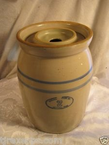 Marshall Butter Churn - Marshall Pottery in Marshall, TX.   Both my aunts and my grandmothers had these...