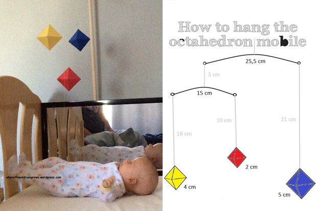 Metodo Montessori: giochi fai da te per neonati di ispirazione montessoriana adatti per bimbi da 0 a 6 mesi. Come costruire giostrine e giochi sensoriali.