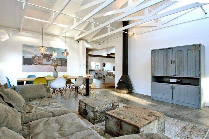 Industrial family house in Cape Town by Studio Swen Burgheim - CAANdesign | Architecture and home design blog