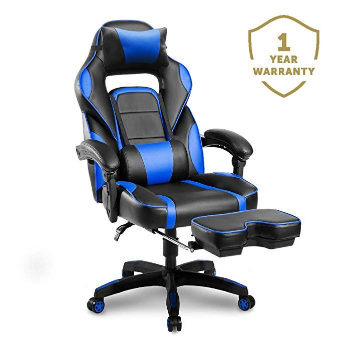Gaming Chair Ergonomic Office Chairs Adjustable Footrest Chairs
