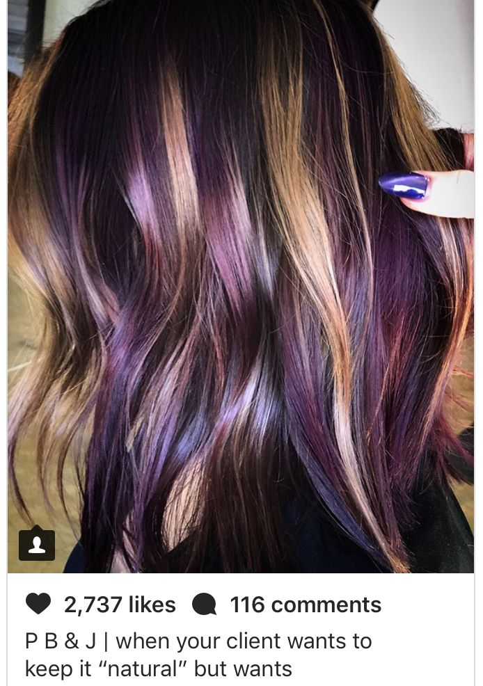 Peanut Butter And Jelly Hair Hairstyle Pinterest