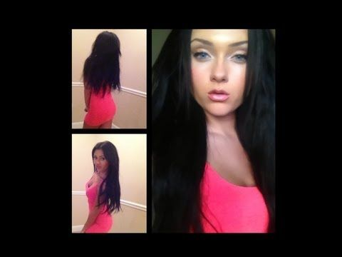 ▶ Bellami Hair Extension Review & Clip in Demo! - YouTube