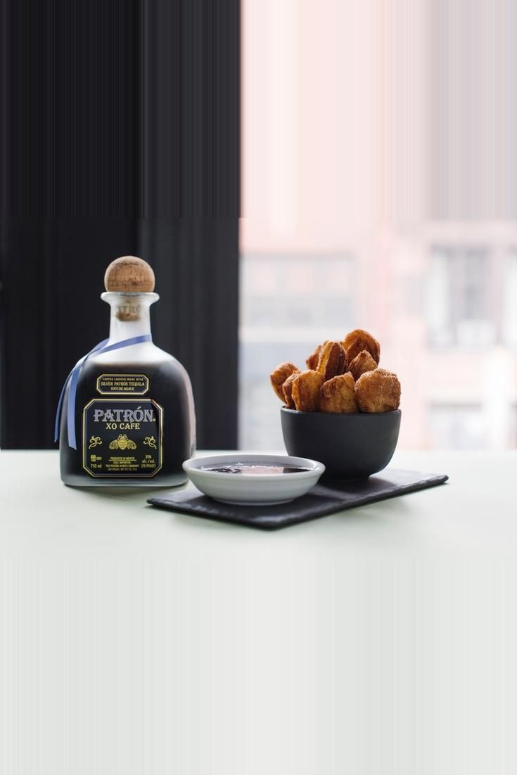 Grown-Up Churros y Chocolate  Elevate Churros With Chocolate Tequila Dipping Sauce