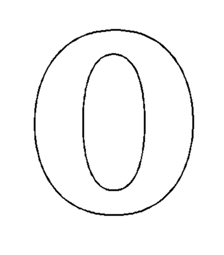 Images Of The Number 0 Number 10 Coloring Page Coloring