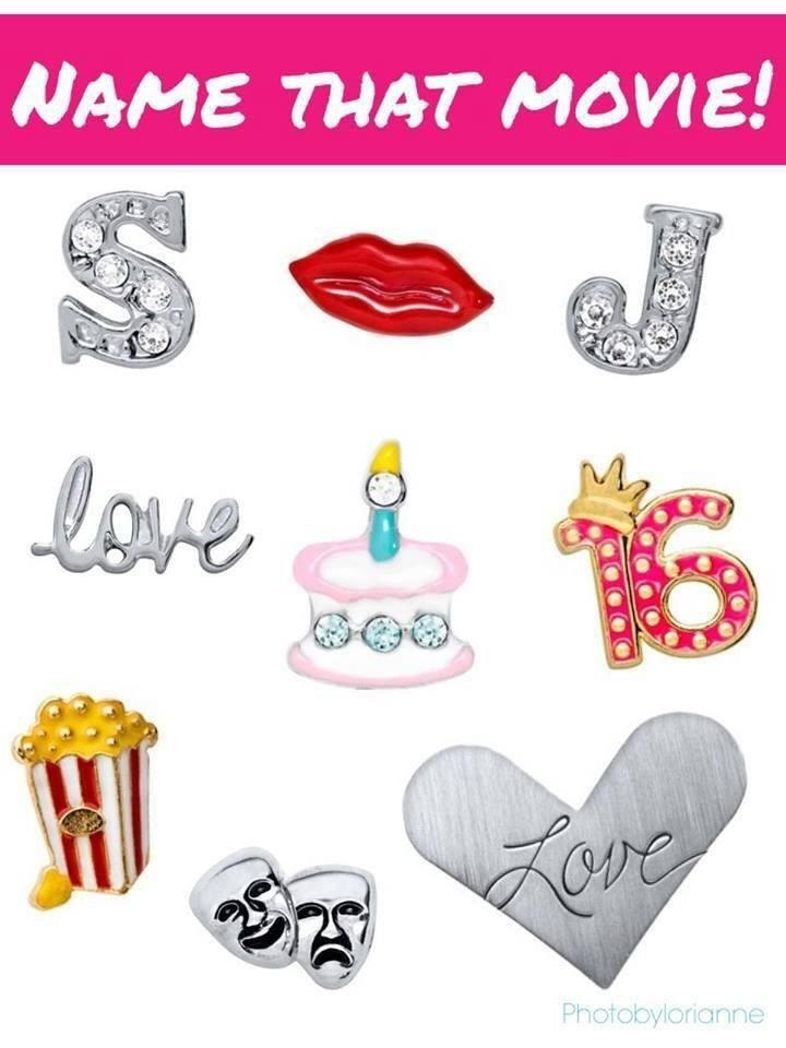 Origami Owl Name That Movie! game. Answer: Sixteen Candles http://www.facebook.com/tiffanyscharm